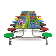 Smart Top Dining Furniture Ideal For School Environment This - School dining room tables