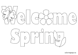 Free Spring Coloring Pages For Preschoolers Irvinecarpetcleaninginfo