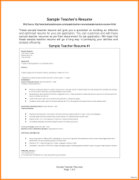 7 Cv Sample For Teaching Job Theorynpractice