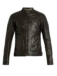 belstaff weybridge waxed leather biker jacket black mens belstaff factory