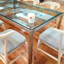 large size of coffee board beige quartz top steel base parsons table desk room and round glass