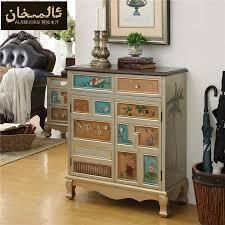 EMS FREE Modern Vintage Entrance Shoe Cabinet Living Room Furniture Side Shoe Racks Ark