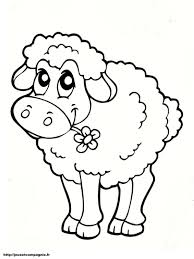 Dessin Mandala Mouton