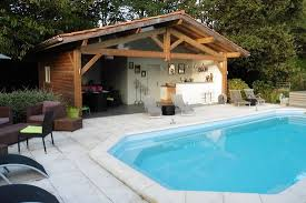 pool house. Chambres Duhtes Lahargou Piscine Et Pool House. House A