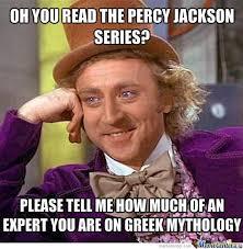 Willy Wonka On Percy Jackson by memer119 - Meme Center via Relatably.com