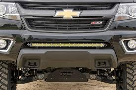 30in Single-Row LED Light Bar Hidden Bumper Mounting Brackets for ...