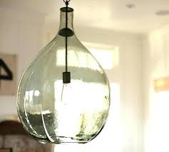 seeded glass pendant lights new seeded glass pendant lighting oversized glass pendant pottery barn seeded glass