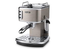 Currys Small Kitchen Appliances Buy Delonghi Scultura Ecz351bg Espresso Machine Champagne Free