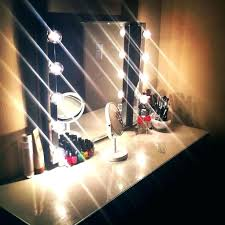dressing table lamp lighting image of vanity with mirror and lights light makeup hair lampe berger