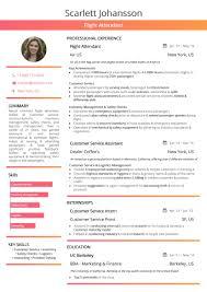 Flight Attendant Resume 2019 Guide With Hostess Resume Samples Best