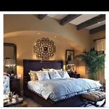 Spanish style master bedroom-arches, beams, romantic! Lighter color on the  walls, bamboo, and some red and we have it! | For my Home | Pinterest |  Spanish ...