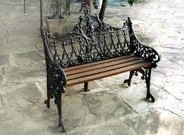cast iron garden benches get latest