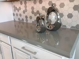Kitchen Bar White Kitchen Cabinet With Grey Cambria Quartz