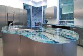 blue kitchen countertops - Google Search