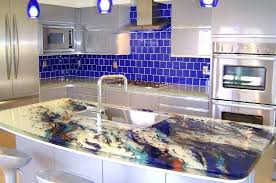 glass kitchen countertops recycled reviews cost pertaining to prepare 23