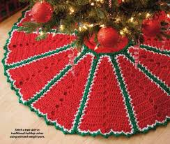 Christmas Tree Skirt Crochet Pattern Unique Y48 Crochet PATTERN ONLY Traditional Holiday Christmas Tree Skirt