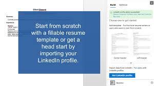Resume Cv Template Builder Optimizer Microsoft Appsource