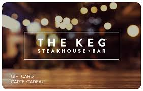 give the gift of an outstanding dining experience with a keg plastic gift card gift cards are the perfect way to celebrate special days say thanks to a