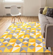 gallery of hong kong 7526 grey yellow rugs 90 x 150cm rug modern cool and 2