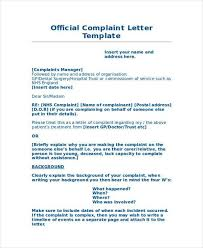 complaint letter examples proper complaint letter format a letter of complaint example