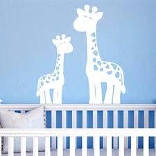 giraffe wall stickers giraffe wall decals jungle nursery decor boy nursery wall sticker mom giraffe wall stickers uk