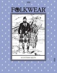 Folkwear Patterns Classy Folkwear Patterns Ladies Mens Sewing Pattern Scottish Kilts