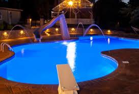 inground pools at night. Plain Night Inground Pools Inside At Night E
