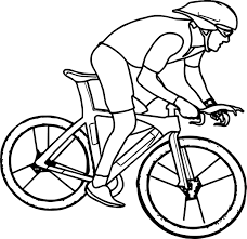 Small Picture Cycling Bike Coloring Page Wecoloringpage