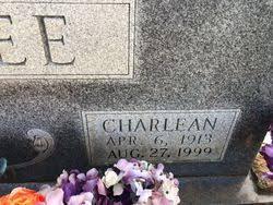 Charlean Rhodes Magee (1913-1999) - Find A Grave Memorial