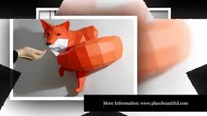 paper animals diy geometric paper animal sculptures by paperwolf you