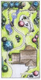 Small Picture Complex garden plan GardenPuzzle online garden planning tool