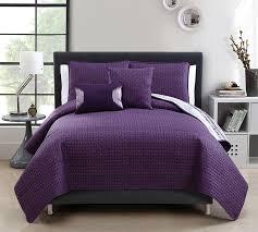 Top 5 Piece Quilt Set Full Bedding in Queen Size - Plum Adelaide ... & Plum Adelaide 5 Piece Quilt Set Full Bedding - Queen Bedding Adamdwight.com