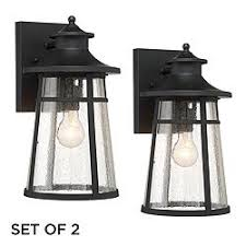cottage outdoor lighting. Set Of 2 Clement 15\ Cottage Outdoor Lighting E