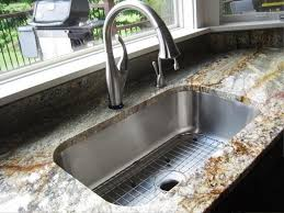 image of undermount kitchen sink installation