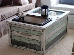 Exceptional Beach Cottage Design Ideas | ... Cottage Trunk Coffee Table 25 Encouraging Beach  House Photo