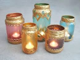 Decorate Jar Candles Decorate Jars Candles How Glass Candle Holders White Sand Blue 97