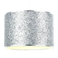 Silver Lamp Shades