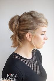 Cute Ponytail Hairstyles 23 Inspiration The PinnedUp Ponytail Hairstyle Tutorial Hair Romance