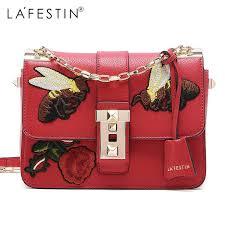 <b>LA FESTIN</b> Genuine Leather Fashion Women Messenger ...