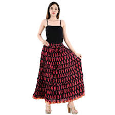 Designer Long Skirts Party Wear Images Chandrakanta Cotton Designer Party Wear Long Skirt For Women