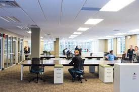 open office concept. consider these design techniques to maximize the benefits of your openconcept office open concept