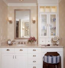 pretty makeup vanities in bathroom traditional with dual vanity with makeup counter next to shallow depth