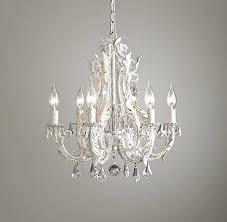small white chandelier beaded antler