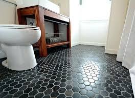 black bathroom floor black hexagon tile bathroom floor black bathroom flooring vinyl