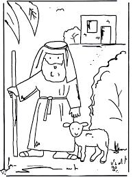 De Goede Herder 1 Bijbel Kleurplaten Nieuwe Testament