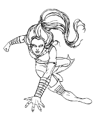 It helps to develop motor skills, imagination and patience. Wolverine And The X Men Coloring Pages