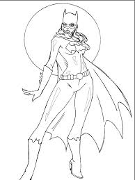 Fancy Batgirl Coloring Pages 19 In Coloring Pages For Adults With