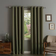 aurora home thermal insulated blackout grommet top 84 inch curtain panel pair picture 2 of 10 picture 3 of 10 picture 4 of 10 7 picture 6 of 10