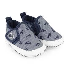 Designer Crib Shoes Uk Lacoste Baby Boys Navy Gazon Crib Shoes Baby Boy Designer