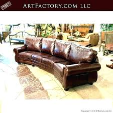 curved leather sectional sofa custom best sofas couches c contemporary